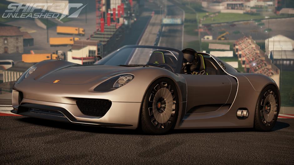 Nfs Porsche 918 Spyder Concept Study